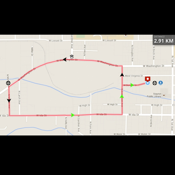 3k Walk / Run Stayton Fun Run